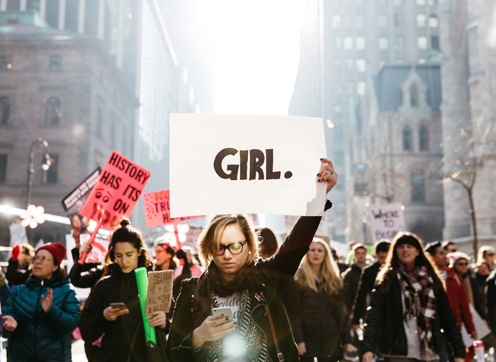 The Most Powerful Protest Art From The Women S March Protest Art City Streets Photography Feminism Photography