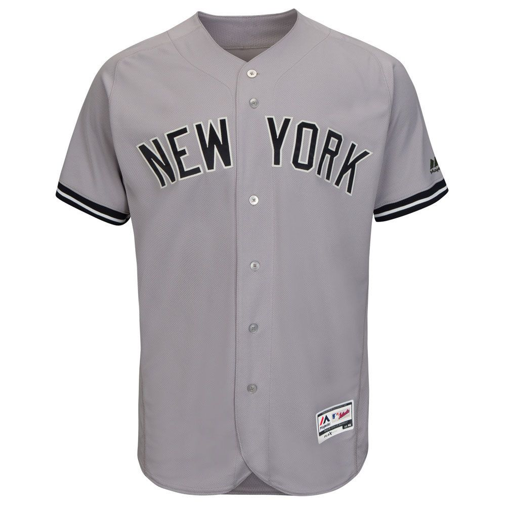 New York Yankees 2016 Authentic On-Field Flexbase™ Road Jersey by Majestic  #NewYorkYankees #yankees