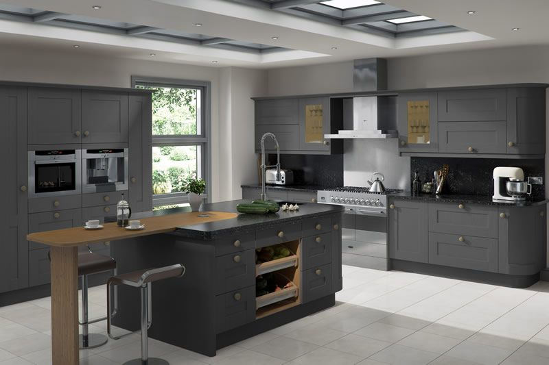 Best Linwood Graphite Kitchens Linwood Graphite Kitchen Units 400 x 300
