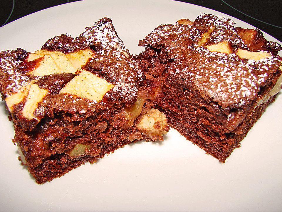Beste Rezeptesammlung: Schoko - Apfel - Kuchen vom Blech