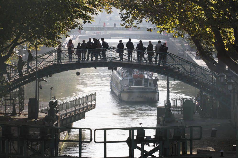 Canal St.Martin, Paris