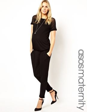 1e371b8b4a40f ASOS Maternity Exclusive Jumpsuit | [ maternity inspiration ] | Asos ...