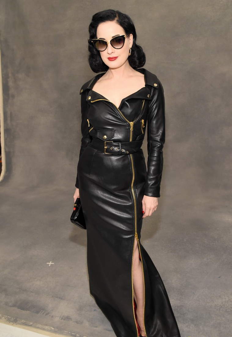 Dita Von Teese presented the first dress in the world, printed on a 3D printer 16.03.2013 21