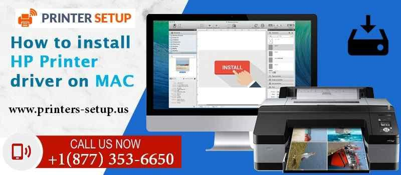 install hp printer drivers for mac, Complete step by step