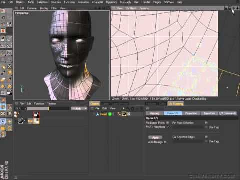 UV Manager Relax - Cinema 4D tutorials | The 3rd Dimension