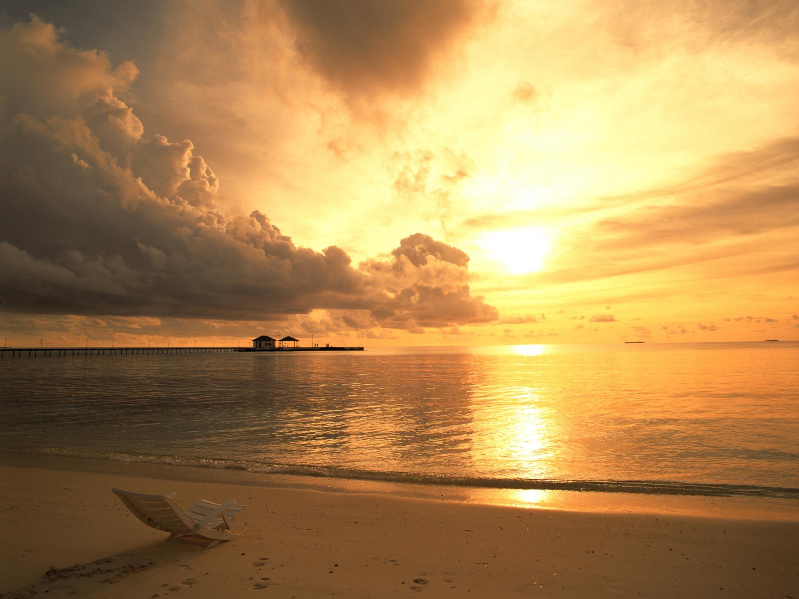 Sunrise Background Google Search Ocean Landscape Beach Sunset Wallpaper Beach Wallpaper