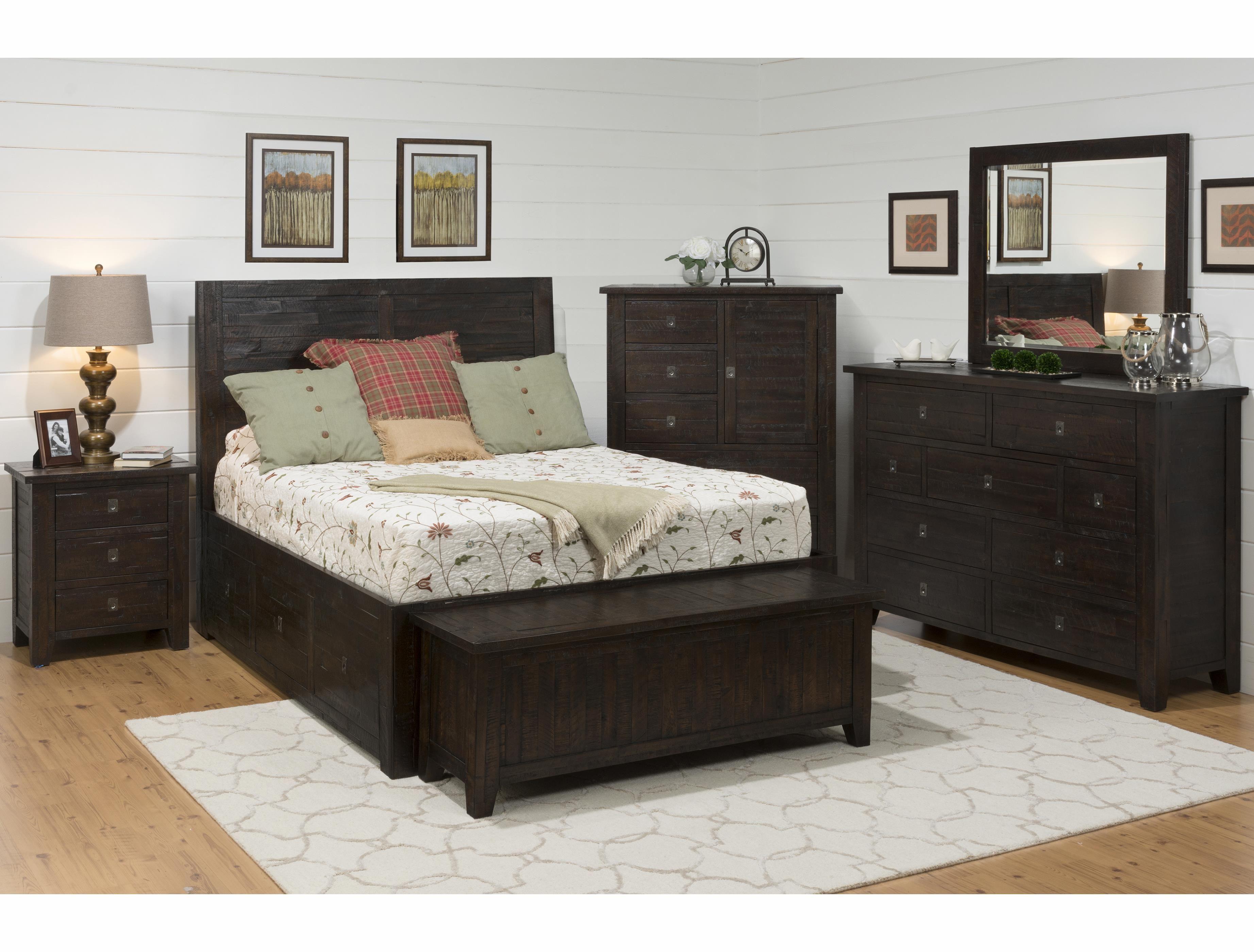 Kona Grove Queen Bedroom Group by Jofran at Story & Lee