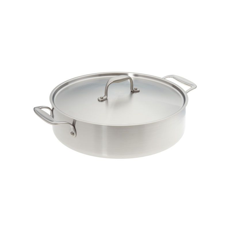 Made In Usa American Kitchen Cookware 12 Inch Stainless Steel Casserole Pan Made In Usa American Kitchen Cookware Casserole Pan American Kitchen Pan