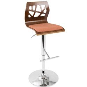 Lumisource Folia Adjustable Barstool With Swivel Amp Reviews Furniture Macy S Adjustable Bar
