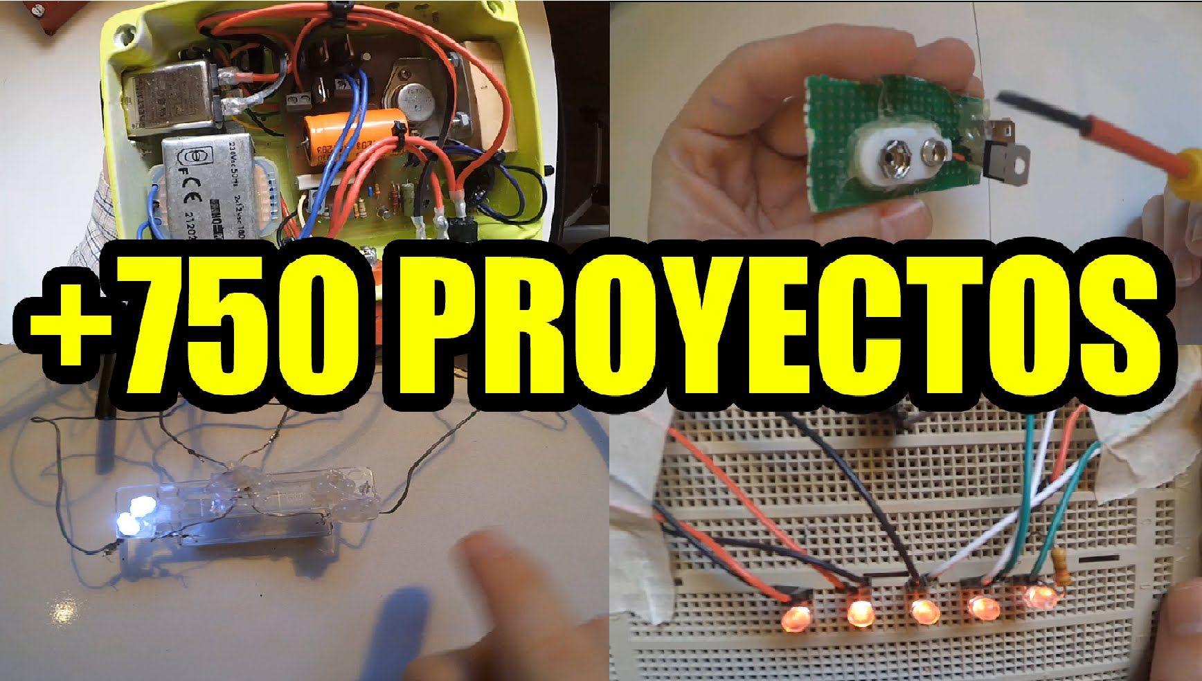 Proyectos Electronicos Faciles De Hacer 750 Proyectos Proyectos Electronicos Electrónica Proyectos De Mecatronica
