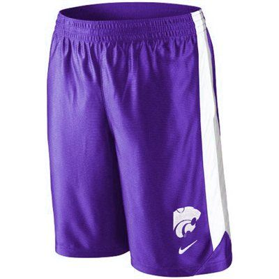 Men's Nike Black Kansas State Wildcats On Court Basketball Shorts