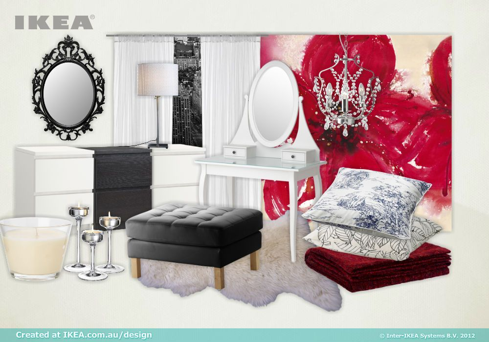 Ikea Bedroom Design Tool French Inspired Black And White Bedroom Chandelier Interior Design