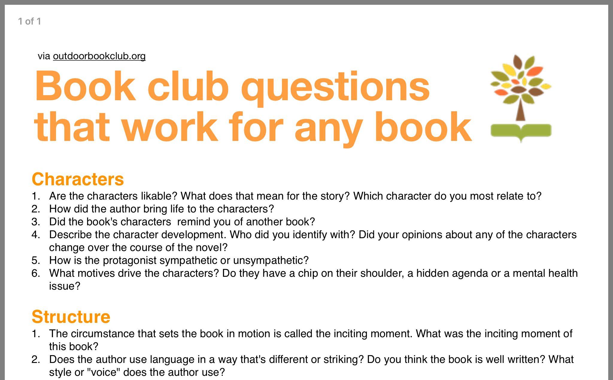 46++ Our little lies book club questions info