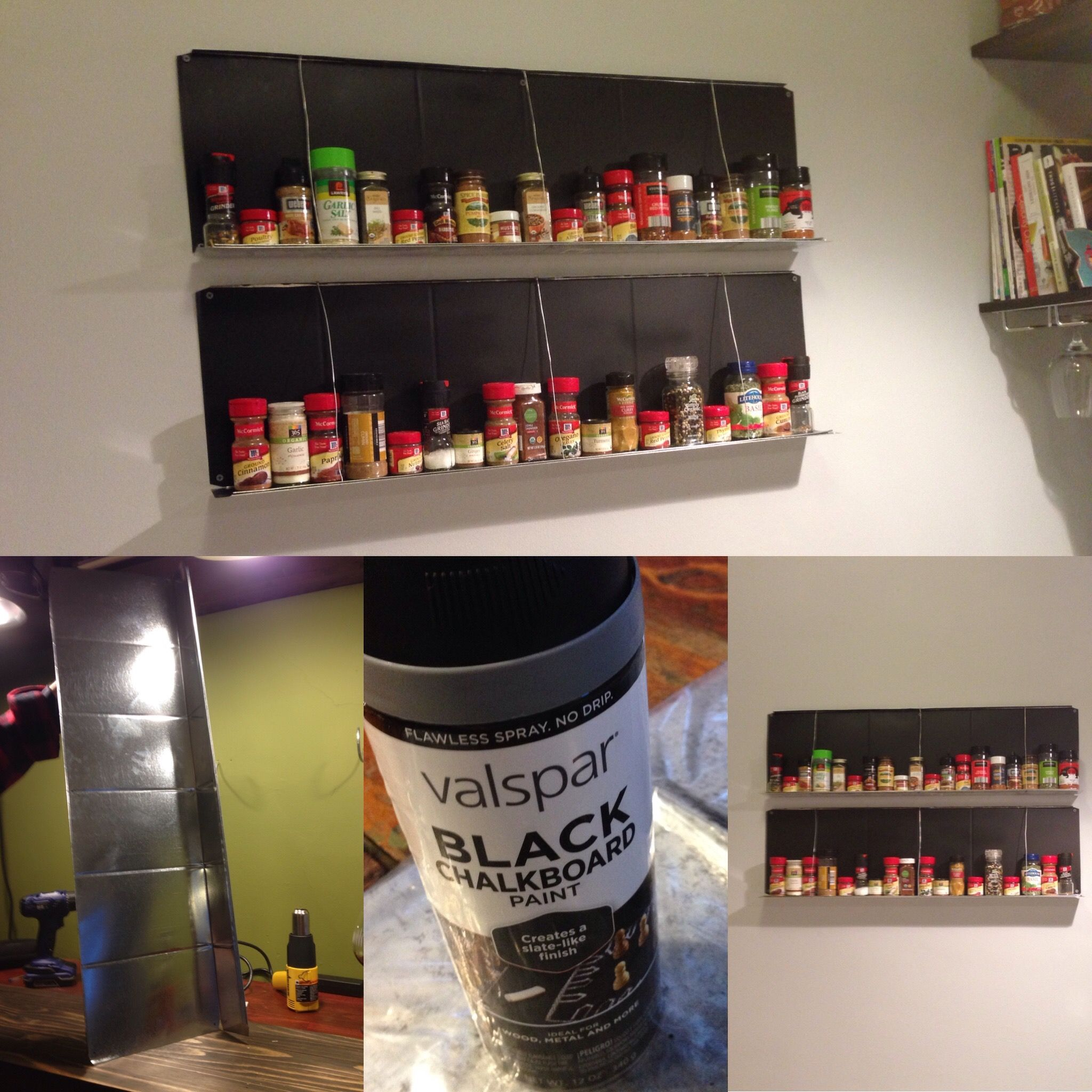 Lowes Spice Rack Enchanting Spice Rackmake From Stack Duct Air Duct Part Available At Lowes 2018