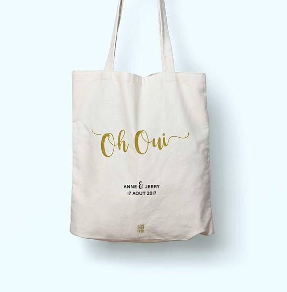 Wedding Witness Gifts: Custom Bag For A Wedding Or A Bachelorette Party, Tote Bag