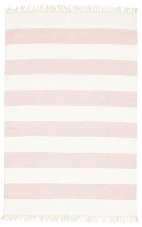 Cotton stripe - Rosa Teppich (120x180) für 68,- EUR - LEIDER NICHT VORRÄTIG