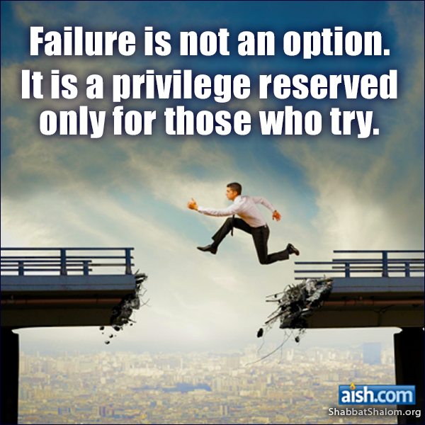Failure is not an option. It is a privelege reserved only for those who try.