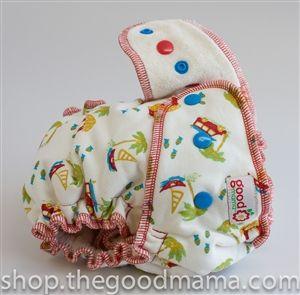 Zane fitted - goodmama diaper