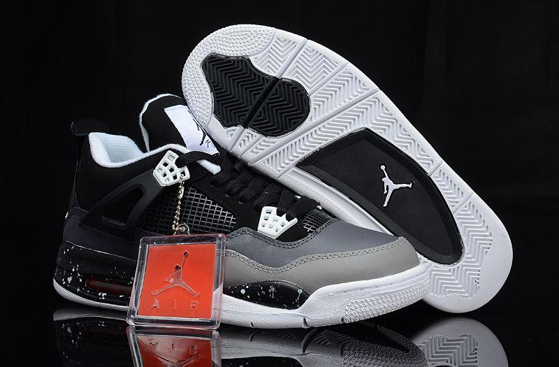 Air Jordan 4 IV Stealth Oreo Nike Air Jordan Air Jordan 4 On Sale