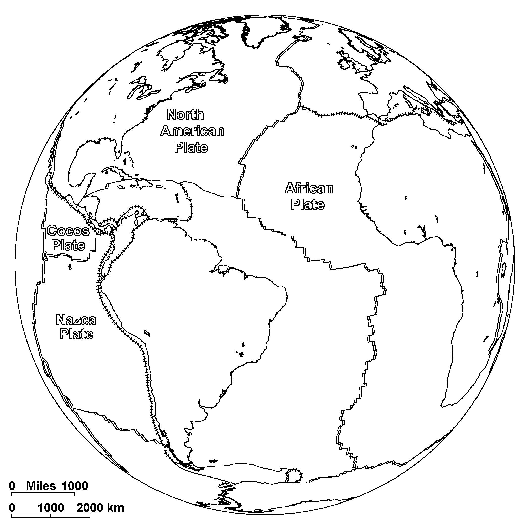 Map Of The World To Color Free Printable World Map