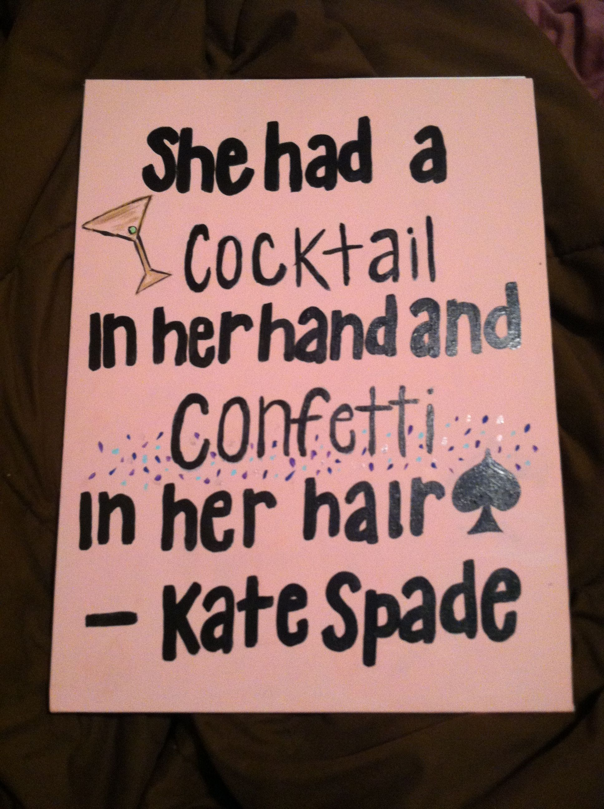 Looking forward to the days when I can say this... #citylife #katespade