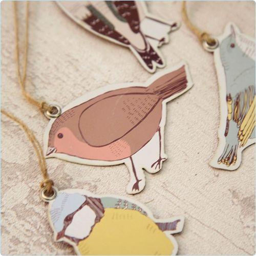 Dekoration für das Kinderzimmer Dekoanhänger Vögel www