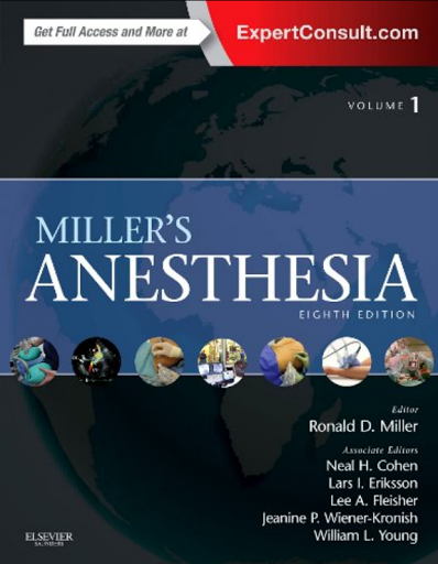 Miller Anesthesia 8th Edition Pdf