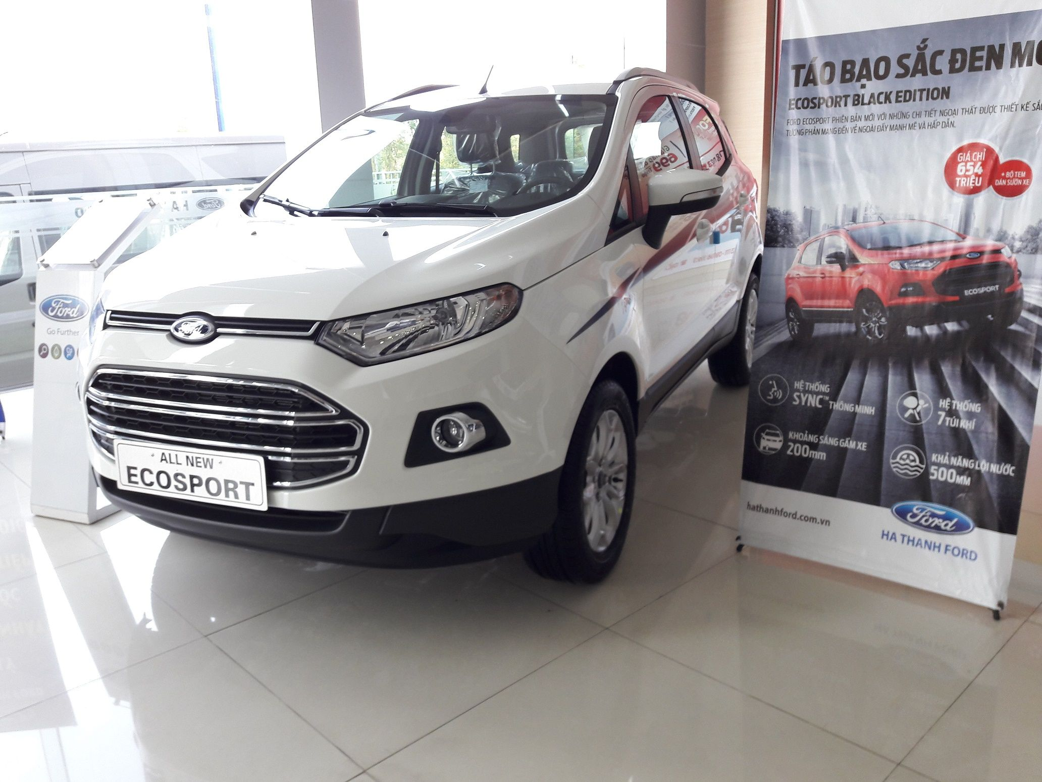 Ford tourneo courier pictures to pin on pinterest - Xe Ford Ecosport Mau Trang