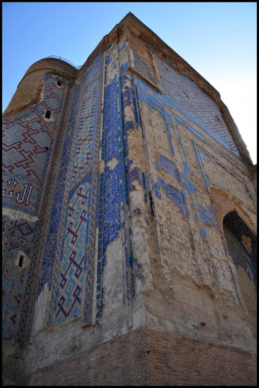 Palác Aksaray bol letným sídlom pre Timura