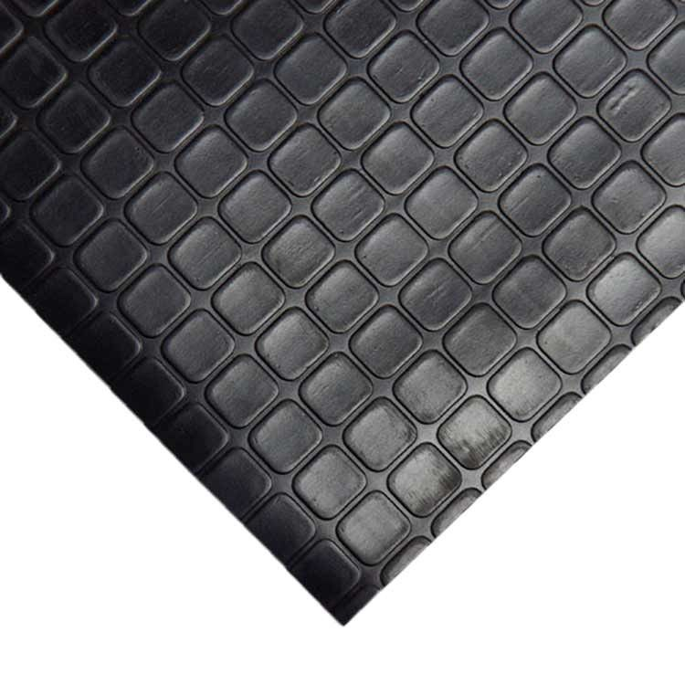 Block Grip 4ft X 13 Ft Garage Flooring Roll In Black Rolled Rubber Flooring Rubber Flooring Rubber Rolls