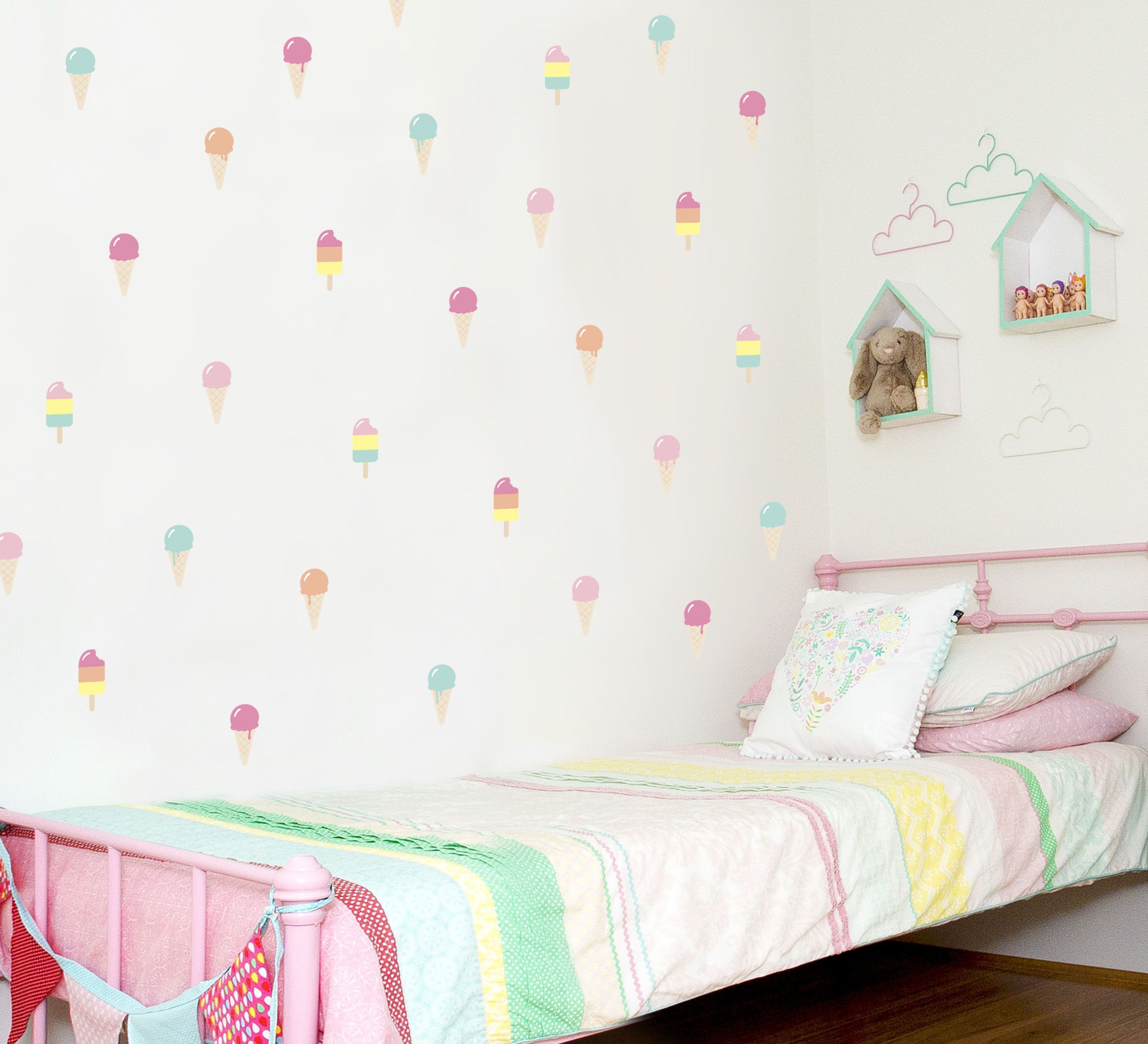 Ice Cream Dream Wall Decal By Speckled House