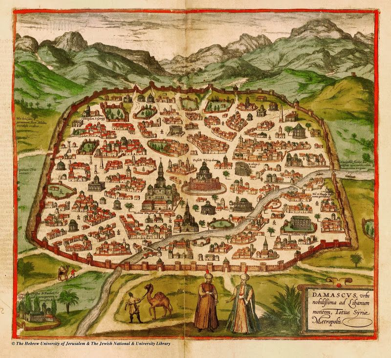 Afternoon Map: 14 Maps of Syria's History | Architecture