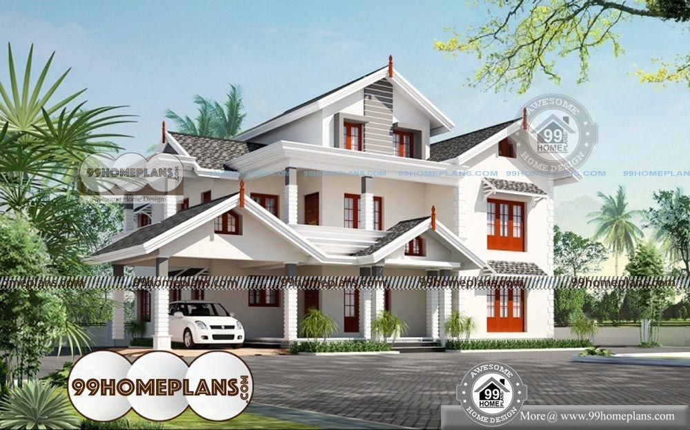 South Indian House Plans With Photos With 3d Elevations And Design Idea Indian House Plans House Plans With Photos Kerala House Design
