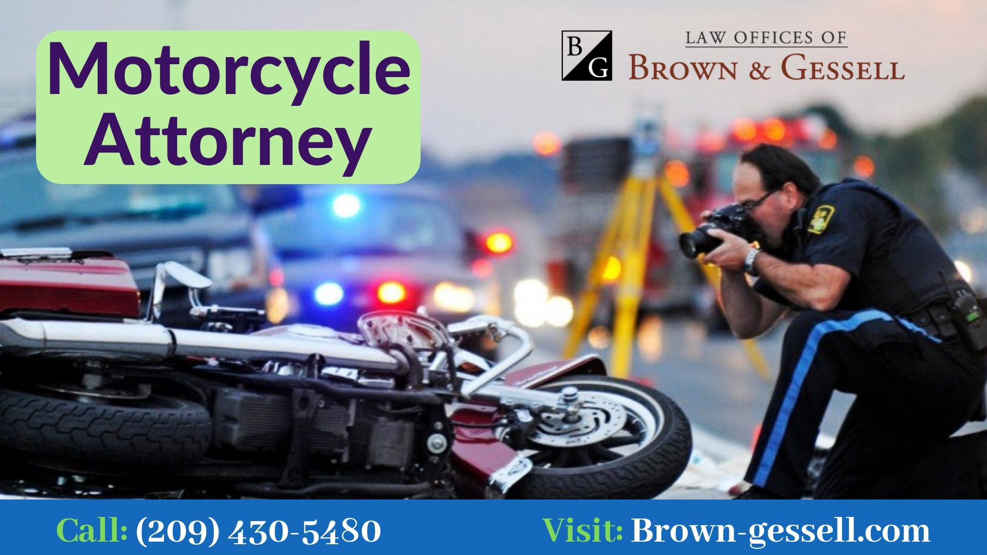 Pin On Motorcycle Accident Attorneys