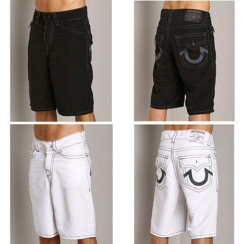 e658f68f78 Best price True Religion Jeans Men's Solid Boardshorts Swim Shorts Sale