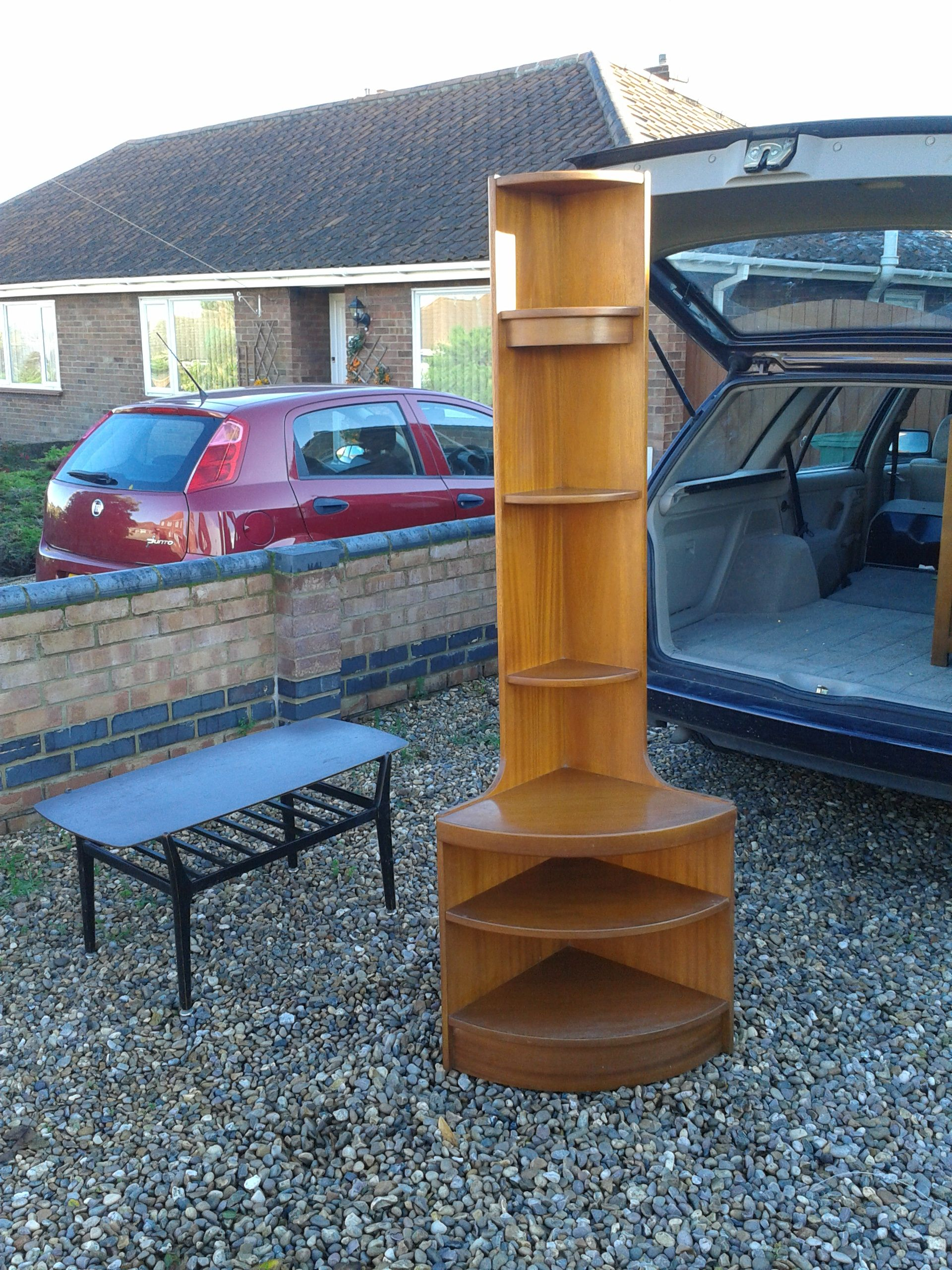 G Plan Style Coffee Table And Parker Knolls Style Solid Teak Corner Unit. £