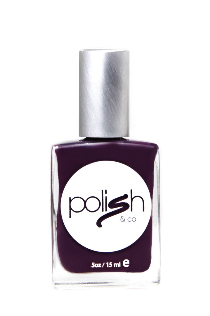 Eggplant Parmesan: Purple Nail Polish Color from Polish & Co. - Buy ...