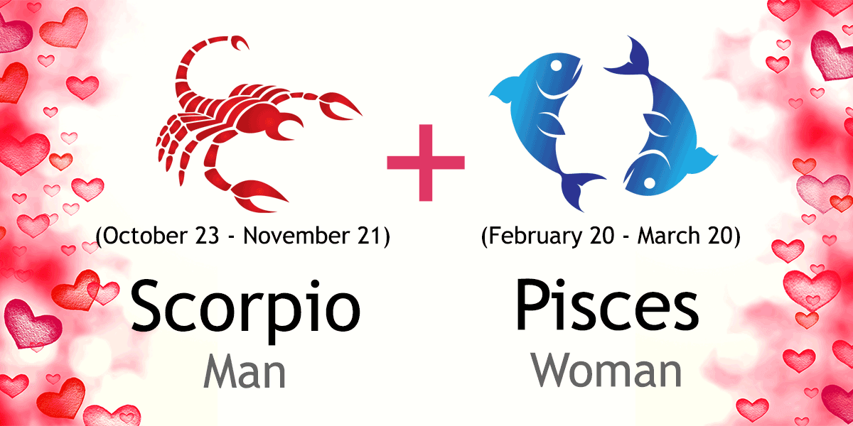 Pisces woman and scorpio man love compatibility