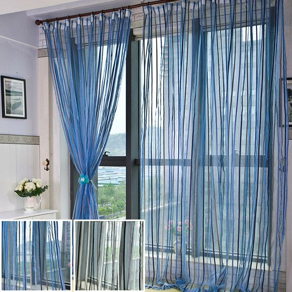 2PCS Gauze Curtain Screens Bedroom Living Room Window Balcony Curtains Float is part of bedroom Window Balcony - I love those fashionable and beautiful Drapes & Curtains  from Newchic com  Find the most suitable and comfortable Drapes & Curtains  at incredibly low prices here