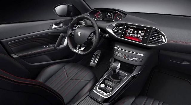 Peugeot 308 Gti The Peugeot S Most Speeding Hatchback Interior