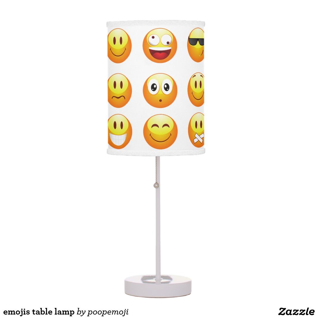 Emojis Table Lamp