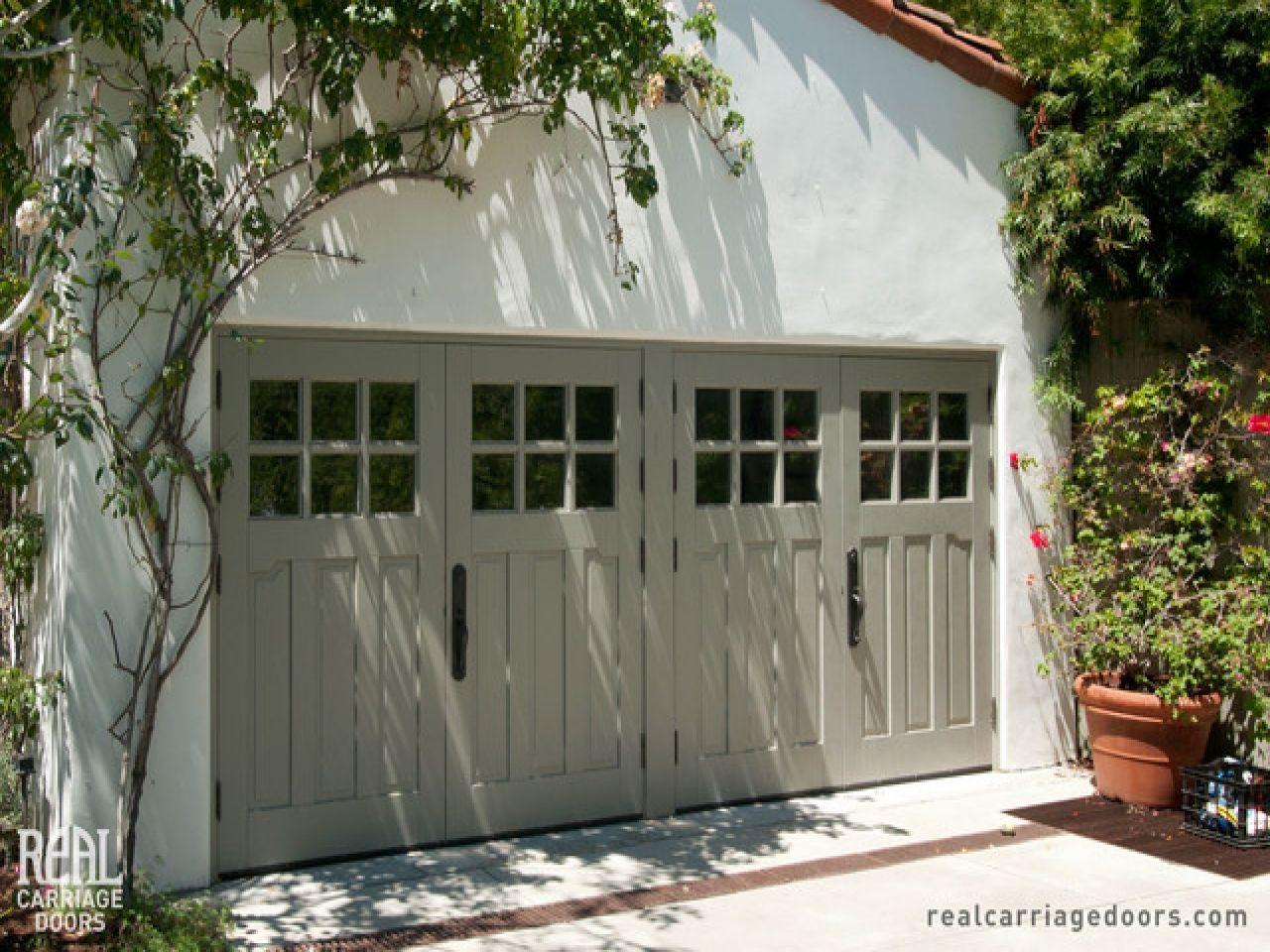 Craftsman Style Garage Garage Door Panels Double Carriage Garage
