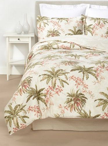 0 Off Tommy Bahama Bonny Cove Comforter Set Ivory With Images