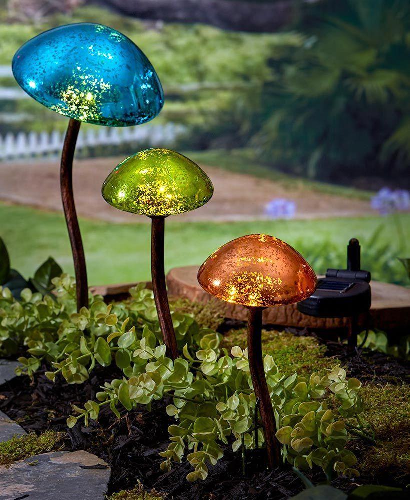 Find The Perfect Landscape Lighting Design For Your Backyard Solar Lights Garden Outdoor Solar Lights Mushroom Lights
