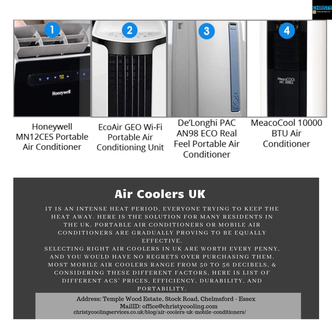 Air Coolers UK Mobile air conditioner, Air cooler