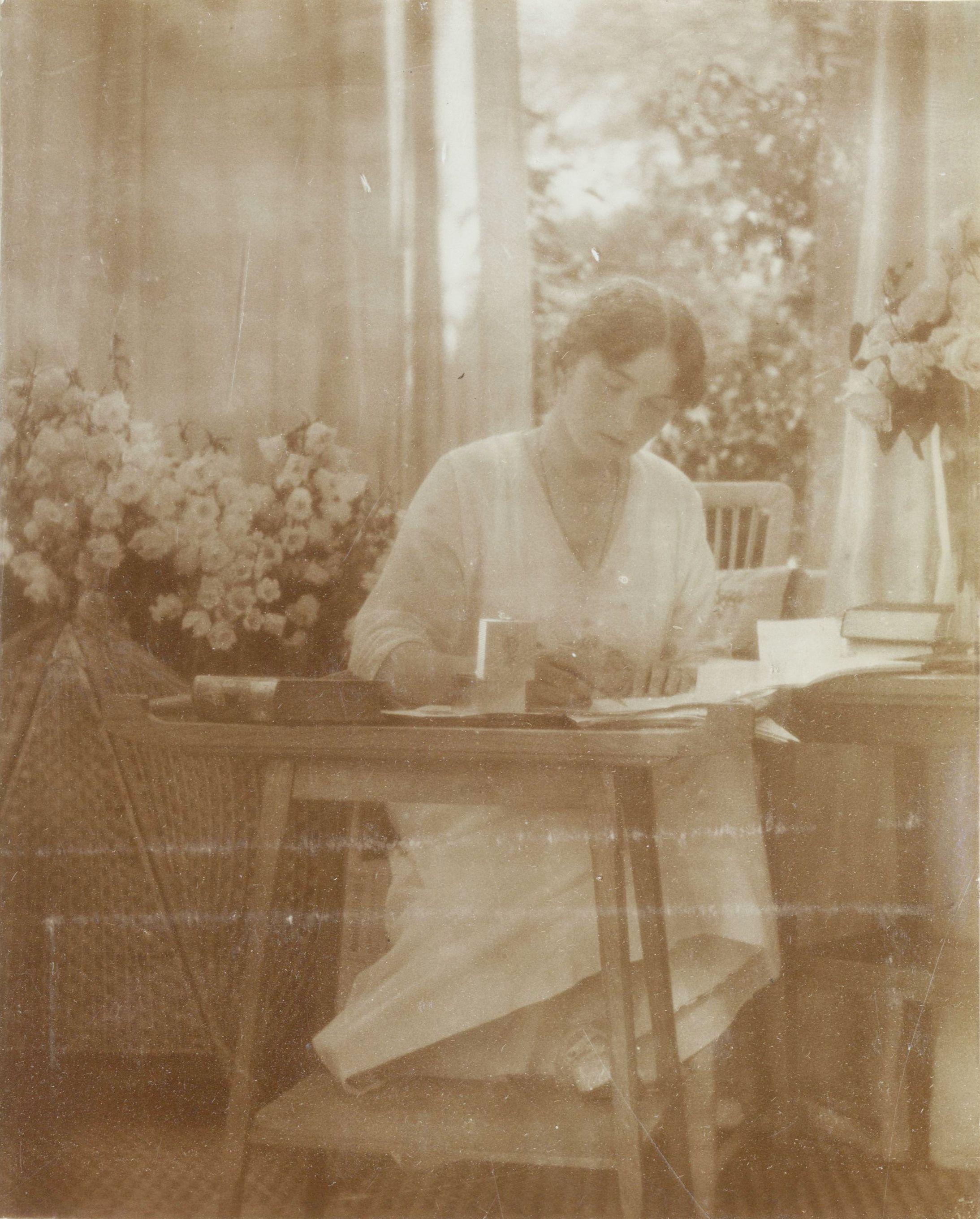 Olga at Tsarskoye Selo, 1915