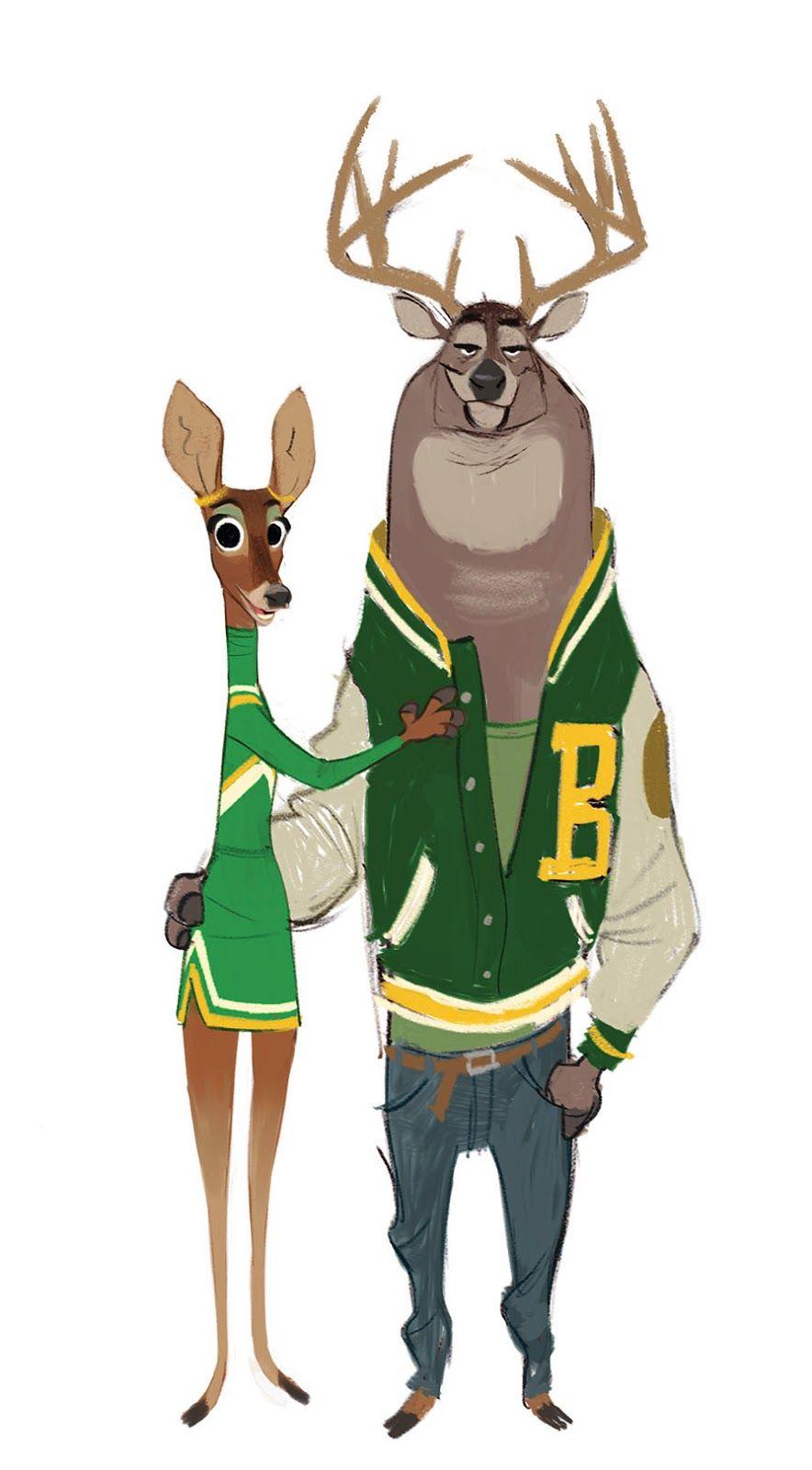 "Character Design Web : ""zootopia walt disney animation studios"