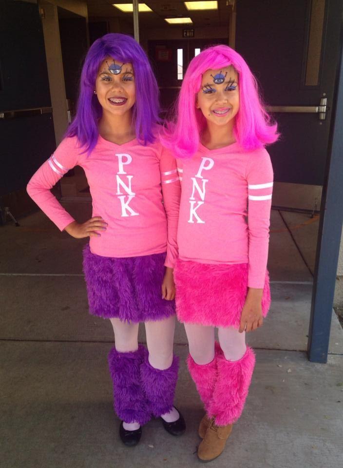 Monsters University Cheerleaders   family halloween costume ideas   Pinterest   Family halloween ...
