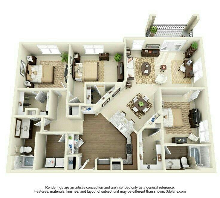 Pin by Niharika Bandi on Urgh Apartment layout, House