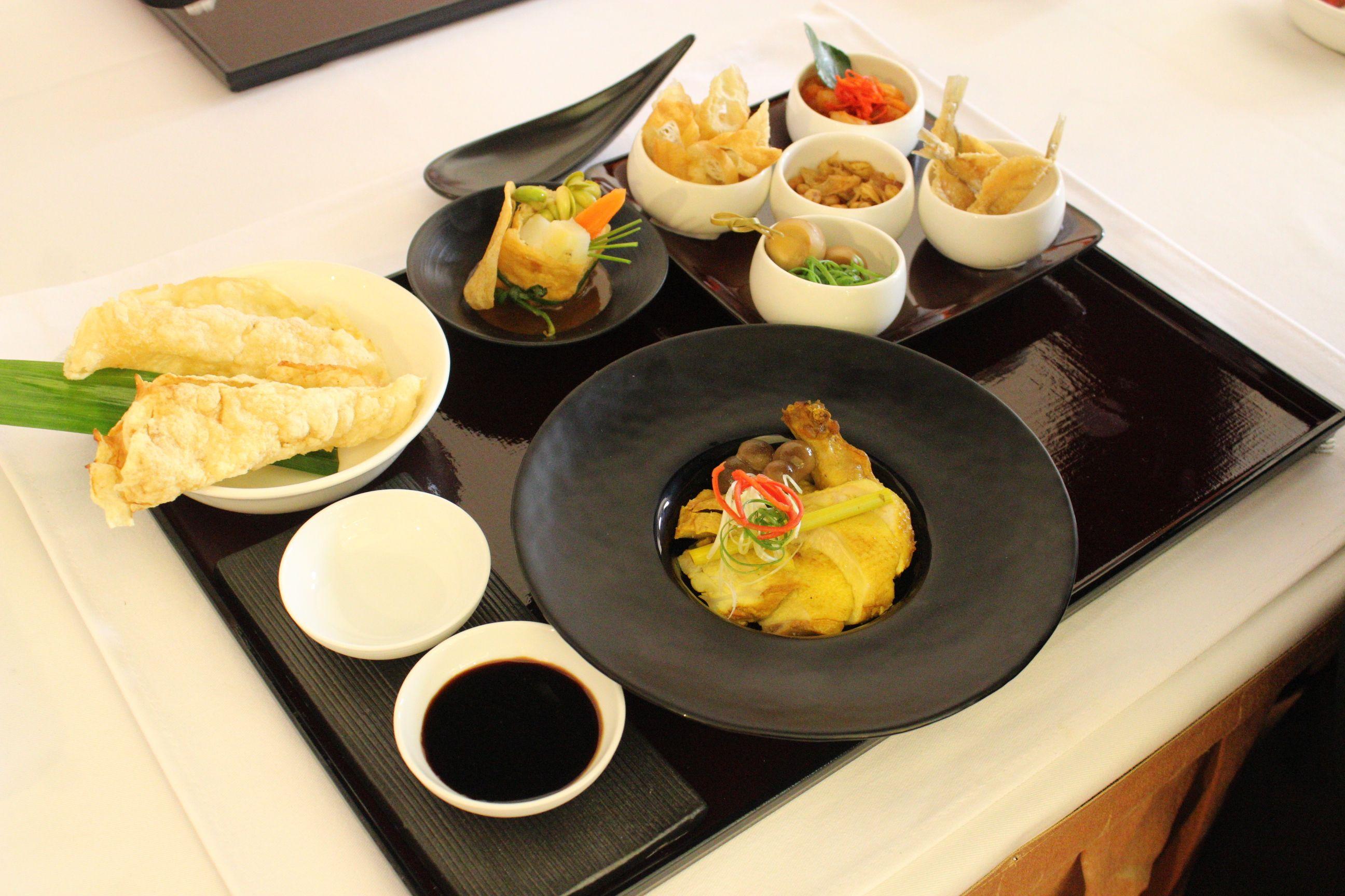 Indonesian breakfast tray